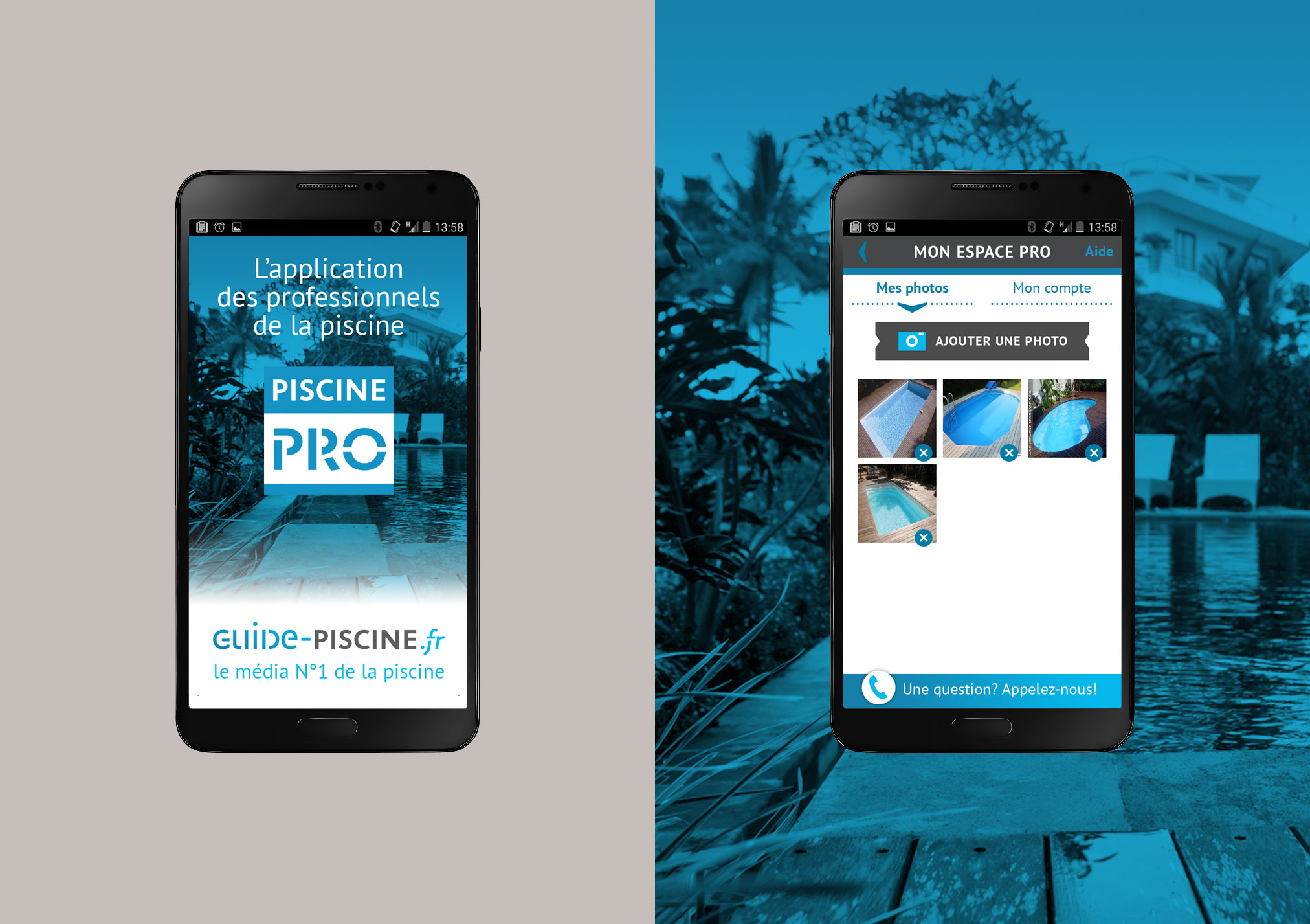 Application mobile Piscine Pro