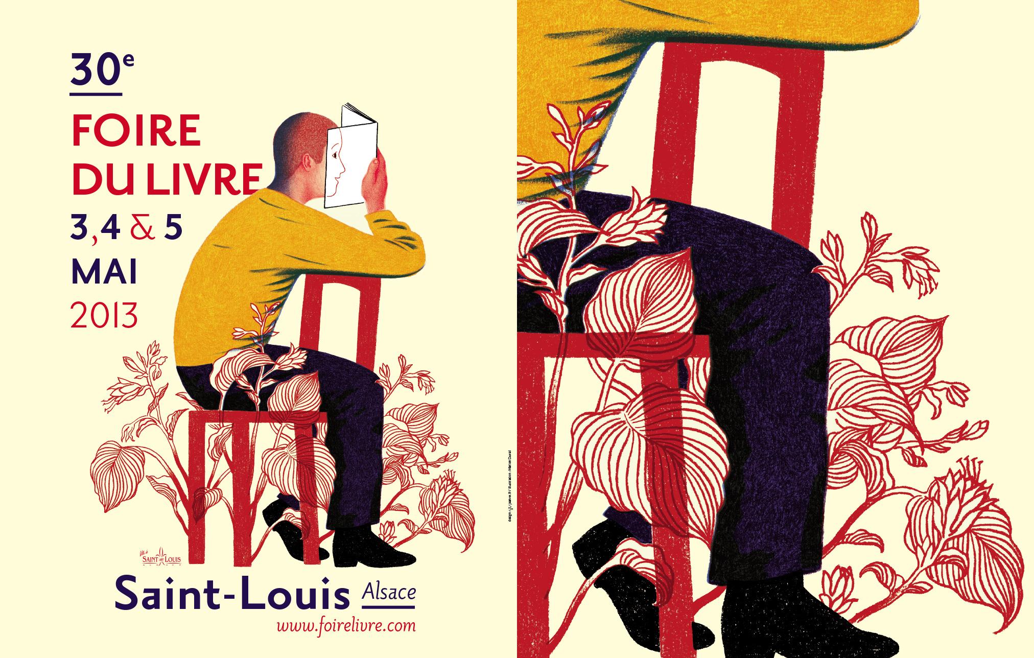 Foire du livre de Saint-Louis