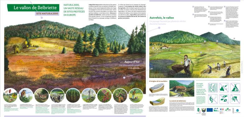 Vallon de Belbriette, site Natura 2000