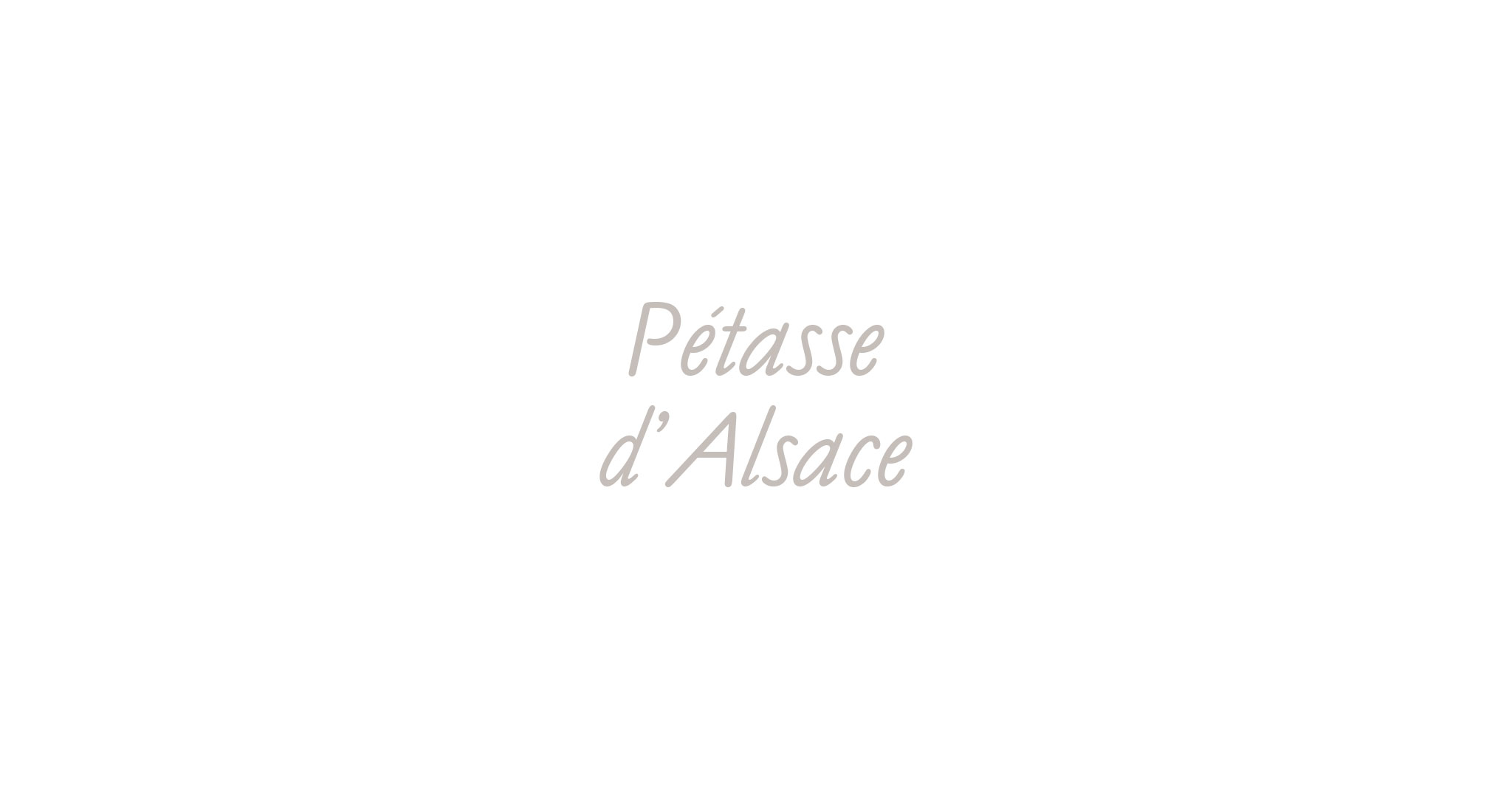 Sweat shirt Pétasse d'Alsace